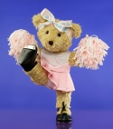 Photo of Melody Bear cheerleading